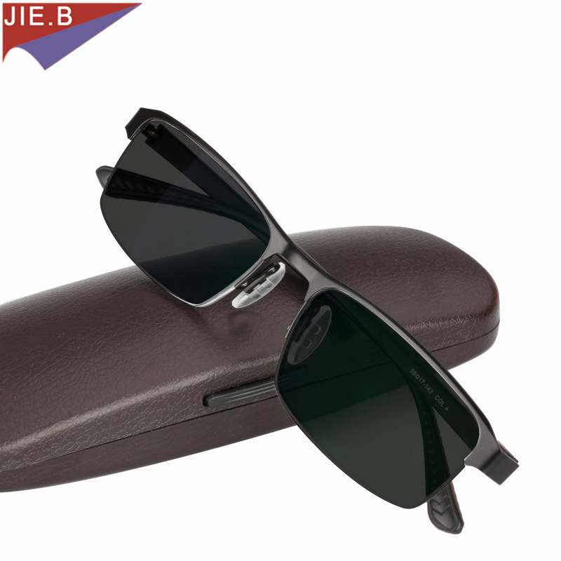 Titanium Alloy Sunglasses Transition Photochromic Reading Glasses for Men Hyperopia Presbyopia with diopters Presbyopia Glasses image