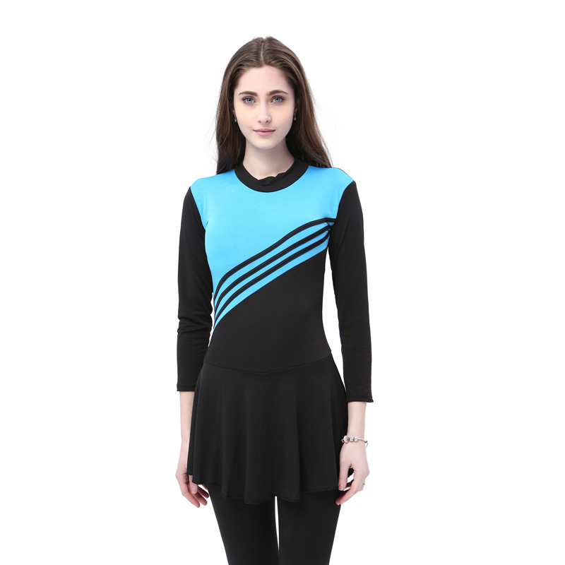 Long Sleeve One Piece Swimsuit Muslim Women Full Cover Plus Size 5XL Swimwear  Islamic Islam Burkinis Beachwear Bathing Suit Set