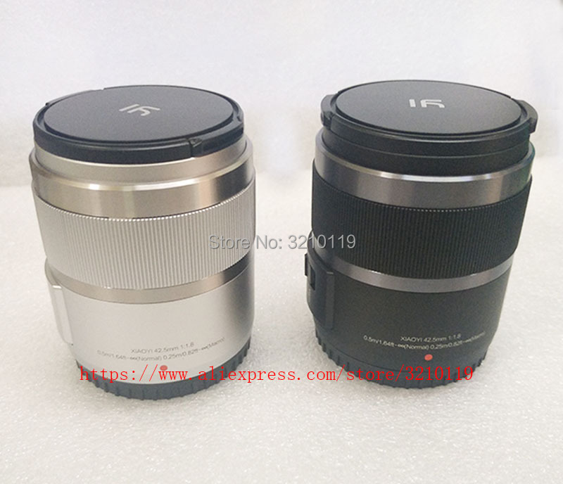 New 42 5mm 42 5 F1 8 fixed focus lens For YI M1 for Panasonic GF6