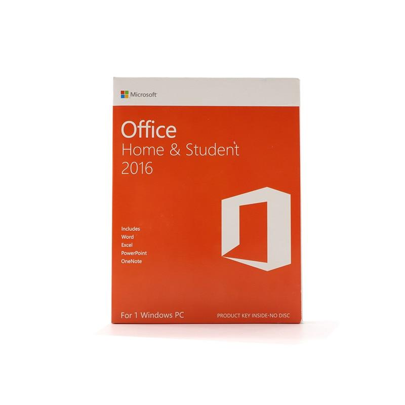 Microsoft Office accueil et étudiant 2016 pour windows détail boîte avec clé de produit Code PC télécharger - 4