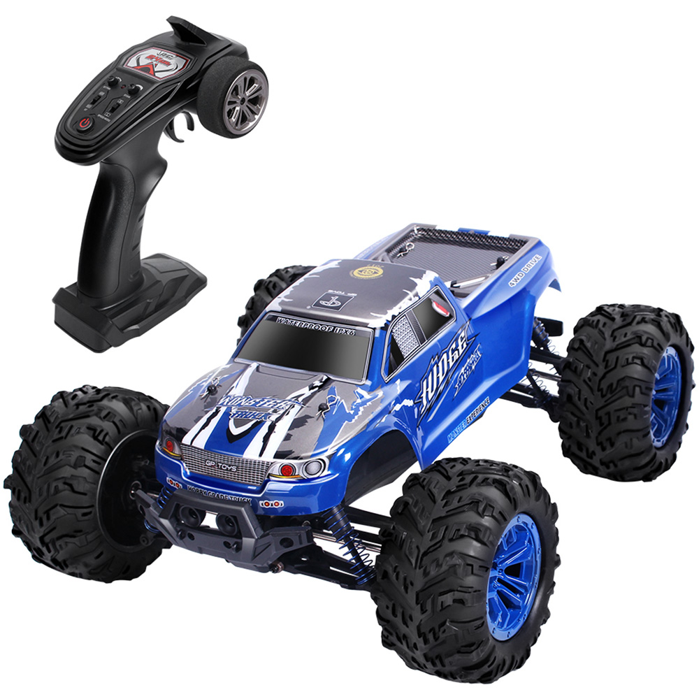 1/10 Scale 2.4GHz Wireless Remote Control RC Car Double-Motor Power 46 Km/H Monster Truck 2.4G 4WD Double Motors RC Car RTR1/10 Scale 2.4GHz Wireless Remote Control RC Car Double-Motor Power 46 Km/H Monster Truck 2.4G 4WD Double Motors RC Car RTR