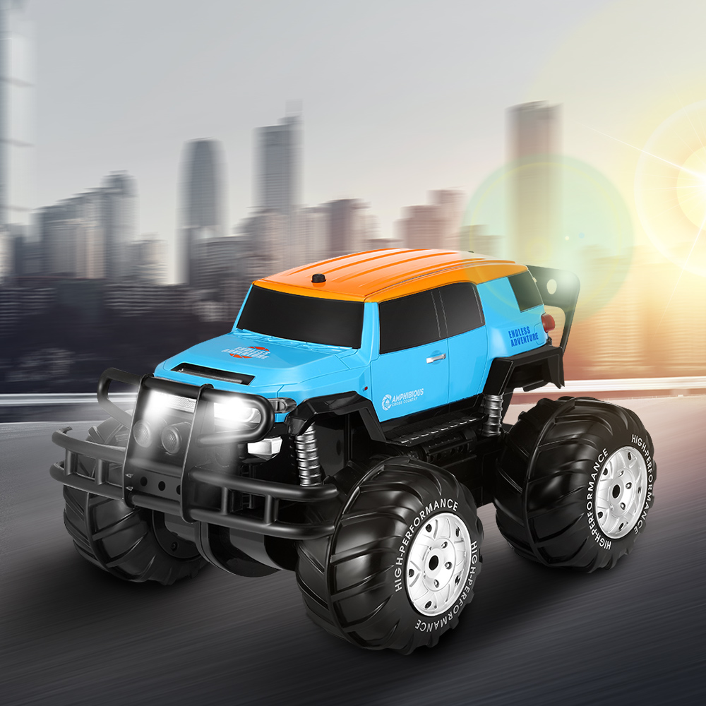 Sturdy And Durable RC Car High Speed RC Cars Amphibious Off-Road Vehicle Rechargeable Car Toy Remote Control CarsSturdy And Durable RC Car High Speed RC Cars Amphibious Off-Road Vehicle Rechargeable Car Toy Remote Control Cars