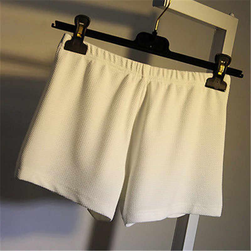 Damskie szorty na co dzień moda kobiety gorące spodenki letnie szorty na co dzień elastyczna plaża regularne elastyczny pas krótki