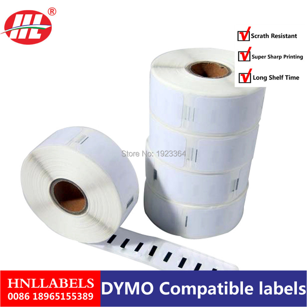 20X Rolls Dymo Compatible 11352 Thermal Paper 54 X 25mm 500 Labels Per Roll Adhesive Sticker Dymo 11352 Return Address Labels