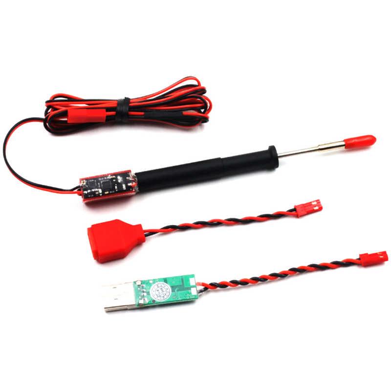 Herramientas de soldadura eléctrica de hierro 3-4 S con modo de suspensión automática para modelos RC piezas de repuesto accesorios de bricolaje