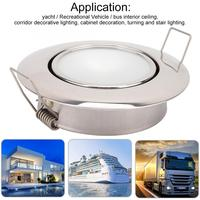 Automobiles LED Ceiling Light 24V 360 Degress Rotatable Interior Ceiling Lamp for Trailer / Van / Yacht car accessories