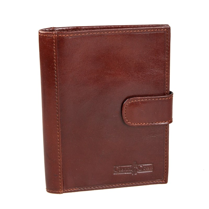 Passport cover Gianni Conti 907035 Brown passport cover o 23 sh brown