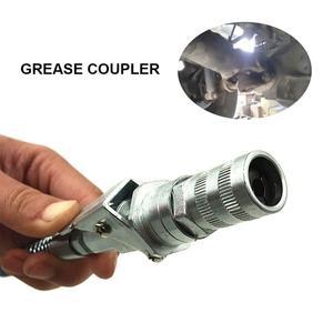 Image 5 - Professional Grease Coupler คีมล็อคแรงดันสูงจาระบีคู่บรรจุหัว Self   Locking จาระบีปาก