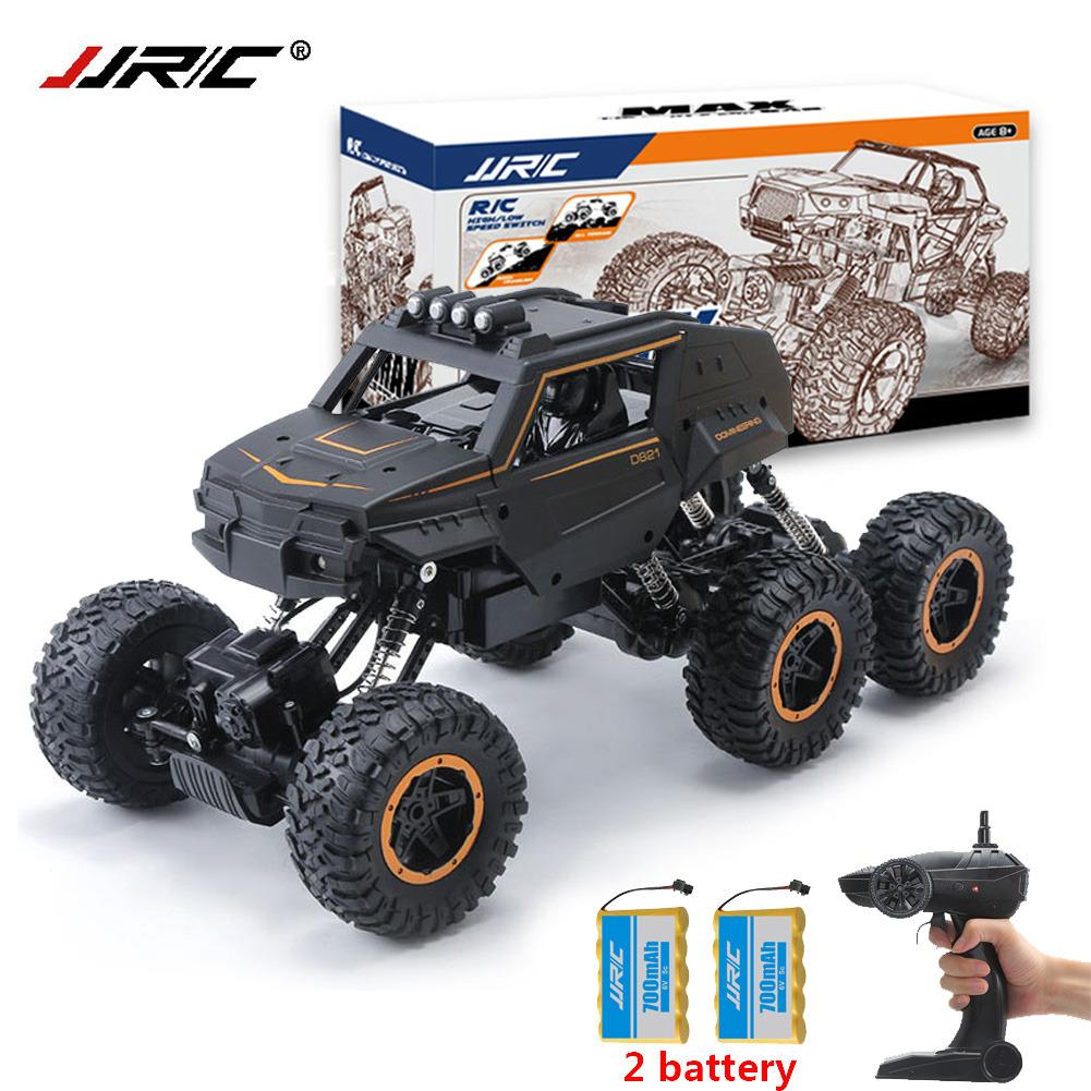JJRC Q51 MAX 1/12 2.4G 6WD Off Road Buggy Crawler RC Car Monster 2x battery Double Motors Drive Bigfoot CarsJJRC Q51 MAX 1/12 2.4G 6WD Off Road Buggy Crawler RC Car Monster 2x battery Double Motors Drive Bigfoot Cars