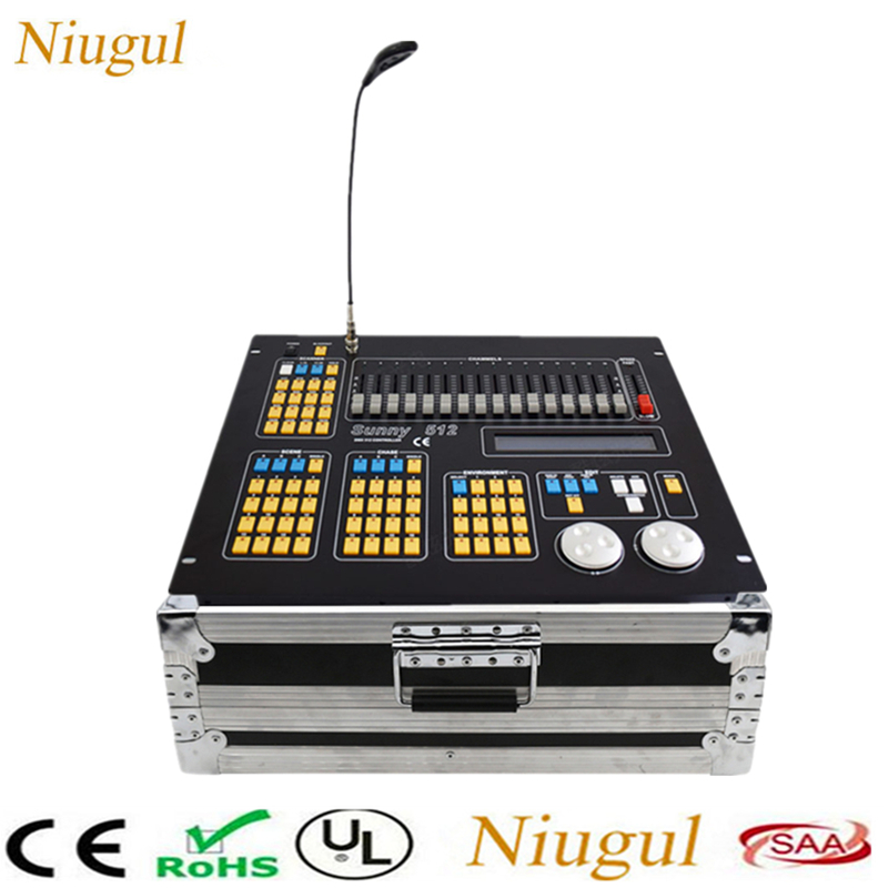 Sunny 512 Stage DJ Light Controller /1024 DMX Console/384 DMX Controller Consoles /Stage Effect Lighting Control DJ Equipment