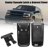 #5998847 #88986007 Center Console Latch Armrest Cover Box Lid Kit For Chevrolet/GMC/Buick Trailblazer Ascender Bravada Rainer