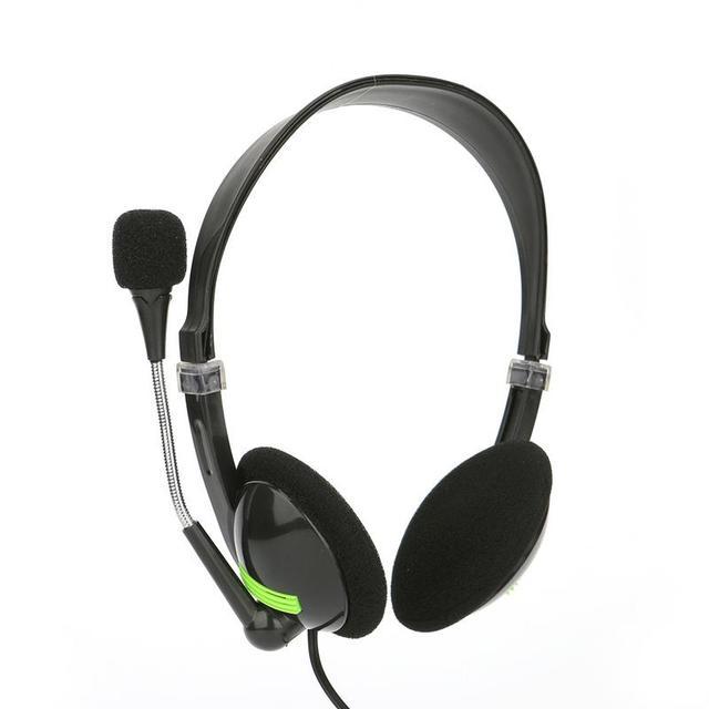 コンピュータ有線ヘッドセットとマイクセンターサポートゲーム音声聴覚音楽ステレオ 3d サウンド 3.5 ミリメートルインターフェースヘッドホン