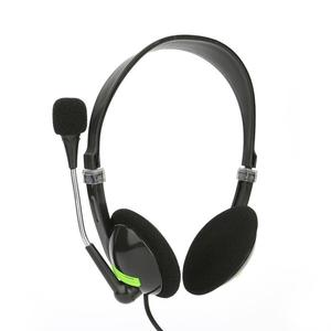 Image 1 - Computer Wired Headset With Microphone Suport Gaming Voice Hearing Music Stereo 3d Sound 3.5MM Interface Headphone