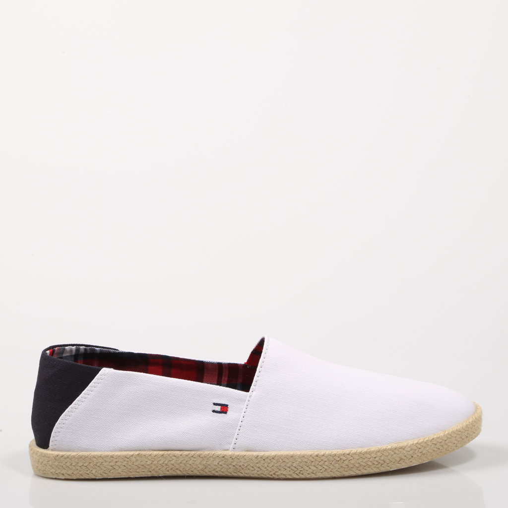 entire collection exclusive range exquisite design US $56.36 |TOMMY HILFIGER SHOES S. SLIP ON WHITE FMFM00569100 White Canvas  men White SHOES Man Casual Shoes Fashion 69554-in Formal Shoes from Shoes  ...
