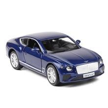 1:36 Scale Bentley GT Sport Cars Alloy Metal Model Car Pull Back Sound & Lights diecast Toys For Children Hot Wheelll недорго, оригинальная цена