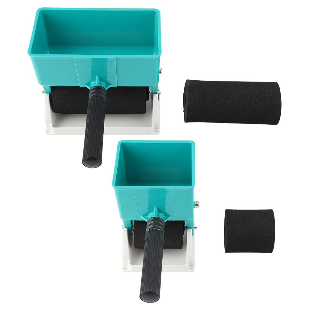 New 180mL/320mL Paint Buckets Portable Handheld Glue Applicator Roller Manual Gluer