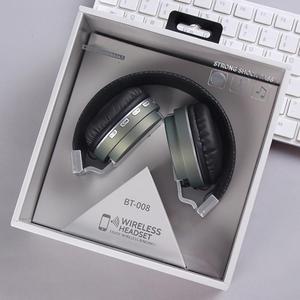 Image 4 - Auriculares portátiles de pintura metálica auriculares inalámbricos Bluetooth auriculares estéreo Hd sonido envolvente deportes dispositivos de salida con micrófono