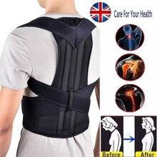 Back Posture Corrector Shoulder Lumbar Brace Spine Back