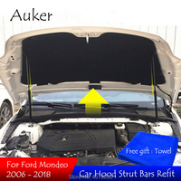 Car accessories Refit Hood Engine Cover Hydraulic Rod Strut Spring Lift Support Shock Bracket Bars For Ford Mondeo mk4 2018 2006