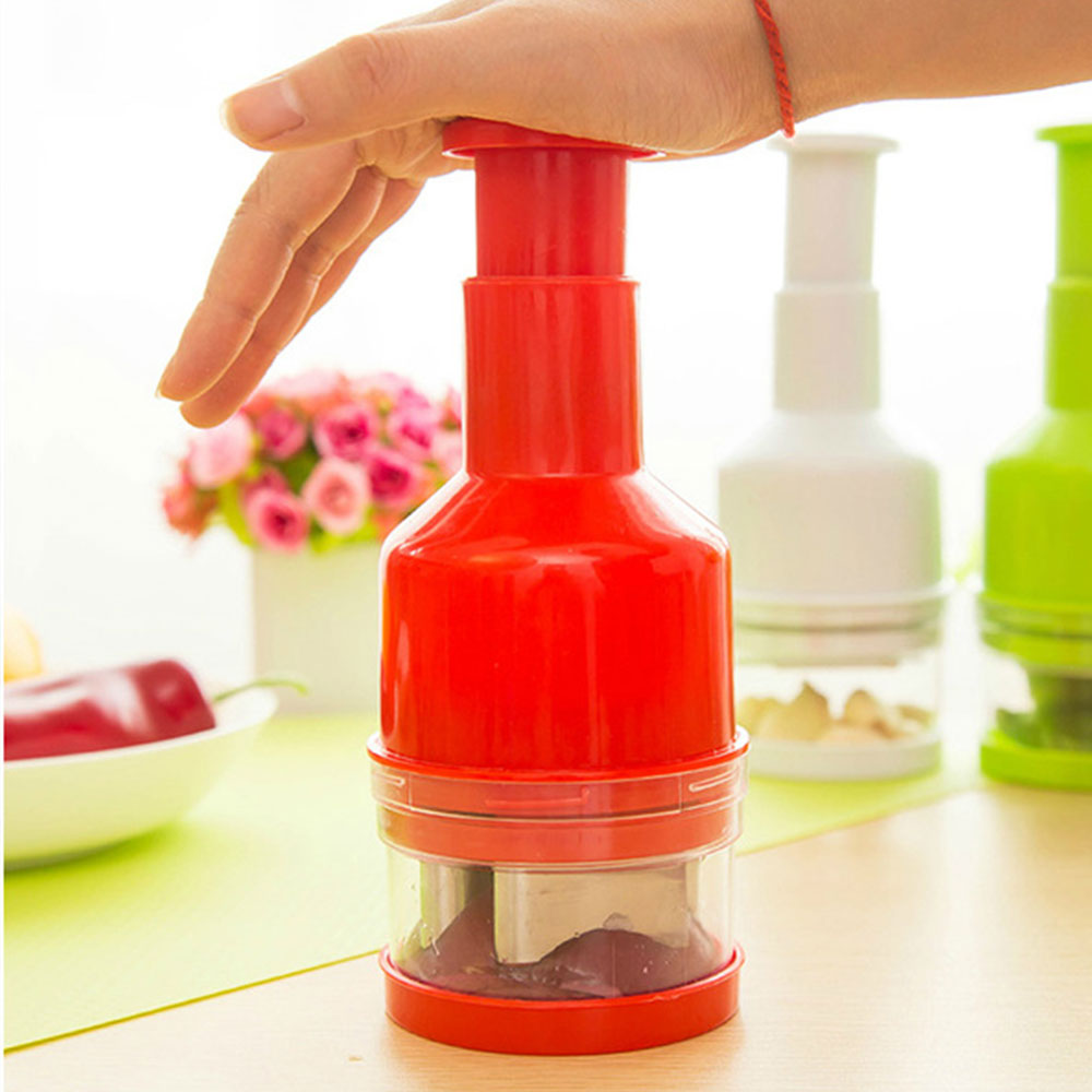 1 Pcs Kitchen Pressing Food Chopper Cutter Licer Peeler Dicer Shredders Multifunctional Cooking Tools Regular Tea Drinking Improves Your Health