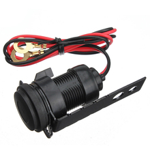 12V Black Waterproof Motorcycle Handlebar Cell Phone USB Charger Power Adapter high quality suitable for moto
