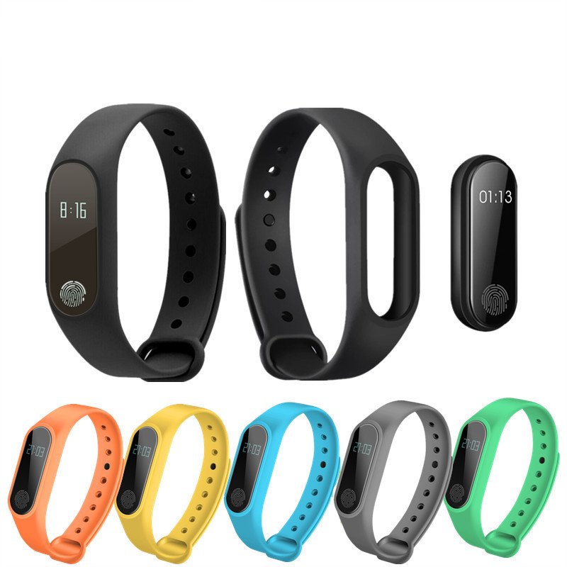 OGV Smart Armband M2 Smart Armband Herz Rate Monitor Schrittzähler Wasserdicht Bluetooth Für iOS Android Für Männer Frauen