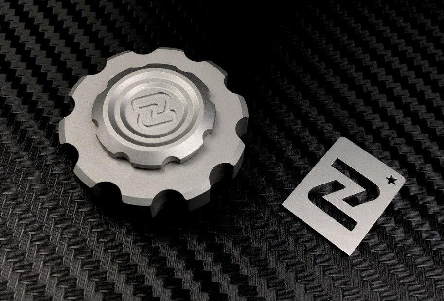 "Original Gear Originator ""Little Devil"" Pocket Fingertip Top Metal Hand Spinner Stainless Steel Fidget Finger EDC Relieve Stress"