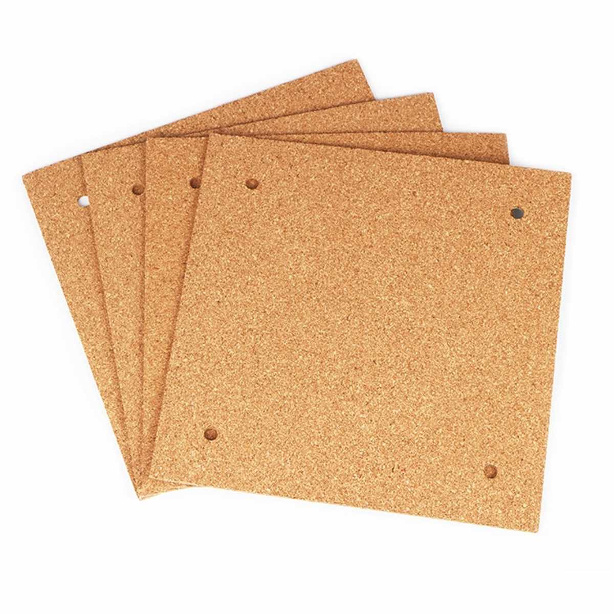 1PCS 310*310*3mm Square Insulation Cork Sheet Heating Pad for CR-10 3D Printer Accessory Hotbed Thermal Cork Plate