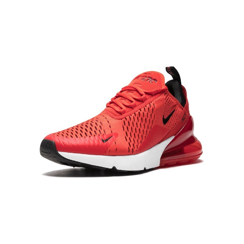 Nike Air Max 270 Original Kids Running Shoes Air Cushion Red Sports Outdoor Sneakers #943345 005