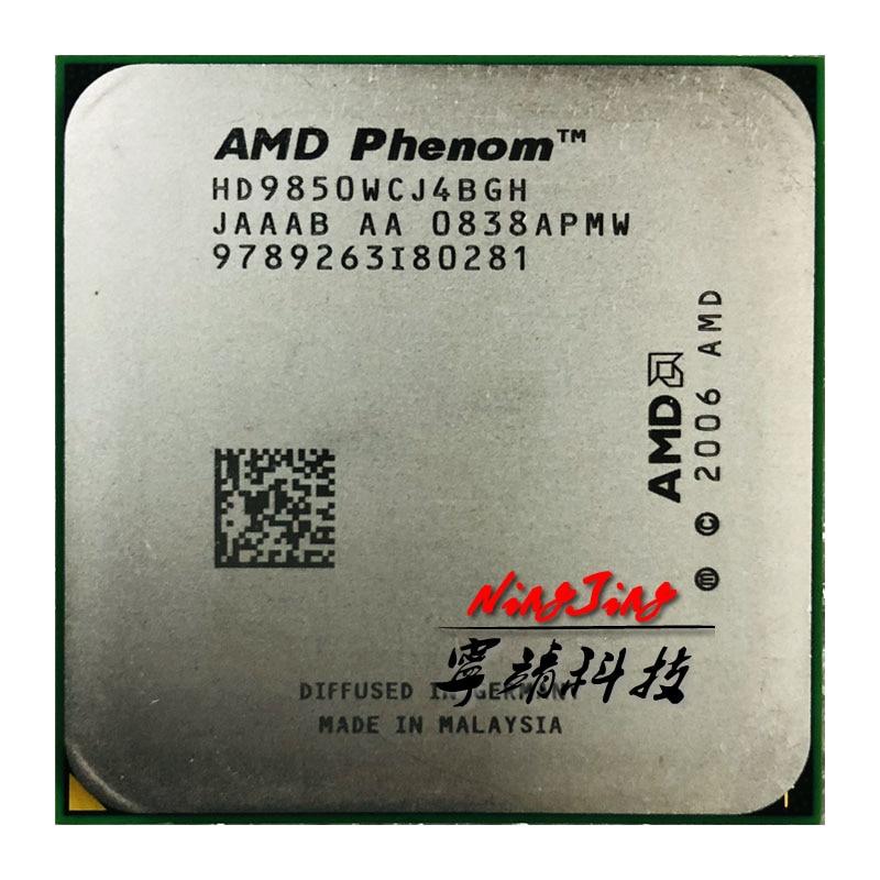 AMD Phenom X4 9850 2 5 GHz 95W Quad Core CPU Processor HD9850WCJ4BGH HD985BWCJ4BGH Socket AM2