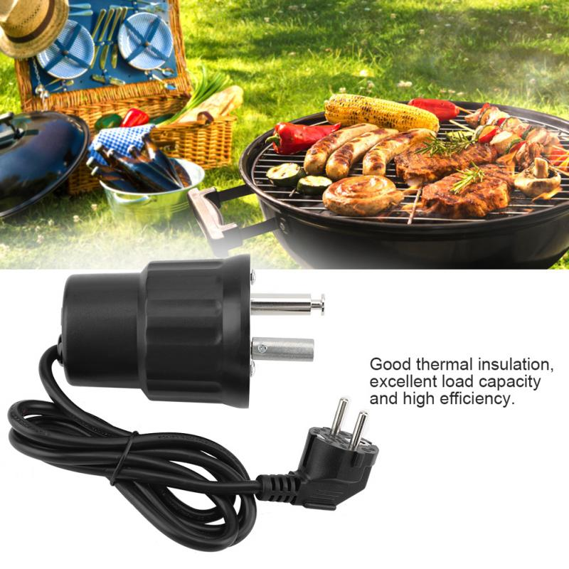 Image 2 - Portable BBQ Roast Rotisserie Grill Motor Rotator Outdoor Barbecue Tool Accessories Home Party Outdoor BBQ Accessories-in Other BBQ Tools from Home & Garden