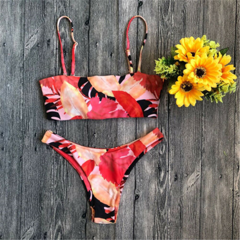 Купить купальник 2019 женский купальный костюм женское бандажное бикини