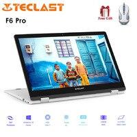 Teclast F6 Pro Тетрадь 13,3 ''Windows 10 1920x1080 Intel Core M3 7Y30 8 Гб Оперативная память DDR3 128 GB SSD отпечатков пальцев ноутбук с Bluetooth