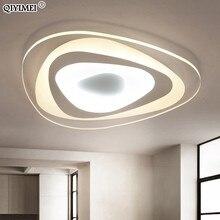 Ultrathin משולש תקרת אורות מנורות לסלון חדר שינה lustres דה sala בית דצמבר LED נברשת תקרה