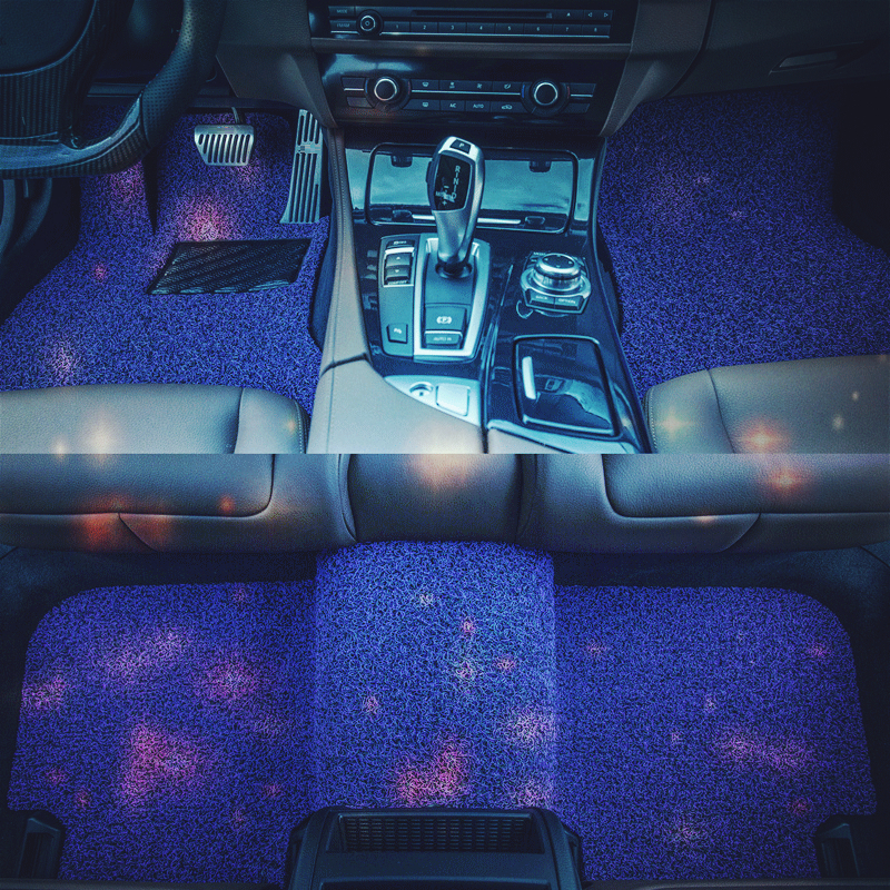 Contemplative Accessories Mouldings Decorative Modified Parts Protector Styling Accessory Car Carpet Floor Mats For Volkswagen C-trek To Have Both The Quality Of Tenacity And Hardness Floor Mats