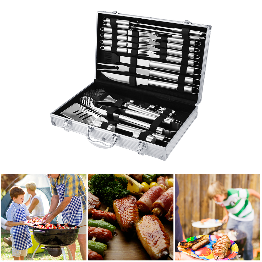 Grill-Case-Set Storage-Bag Barbecue-Grill Picnic Bags Cooking Outdoor Camp With Cloth