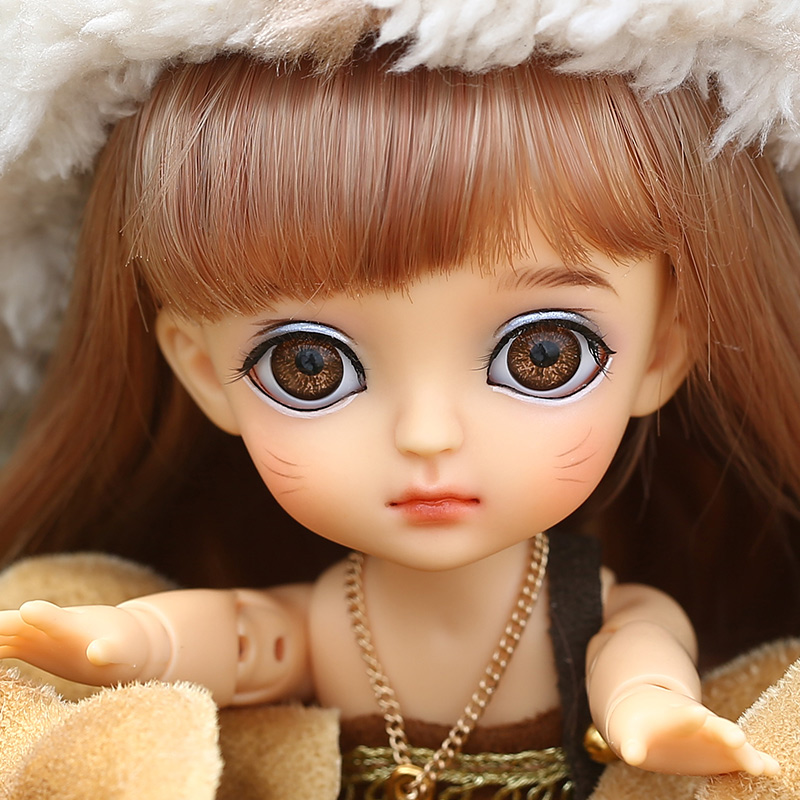 Lati Yellow Happy 1/8 BJD SD YoSD Doll High Quality Cute Girl Toys Joint DollLati Yellow Happy 1/8 BJD SD YoSD Doll High Quality Cute Girl Toys Joint Doll