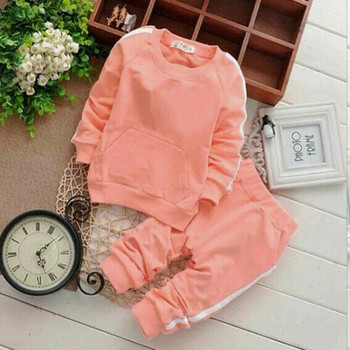 Newborn Brand Carters Baby Boy Clothing Suits Baby Girl Clothes Sets Children Suit Sweatshirts+Sports Pants Spring Kids Set 1