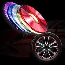 8 м наклейки для автомобиля протектор обода край колеса щитки колеса протектор защита шин уход за мотоциклом Чехлы для мангала Прямая поставка стайлинга автомобилей