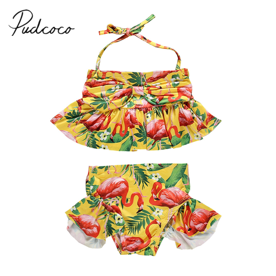 Summer Baby Girls Swimming Clothes Sets Infant Baby Fashion Sling Vest+short Skirts+hat 3pcs Outfits For Newborn Baby Swimsuits Luggage & Bags