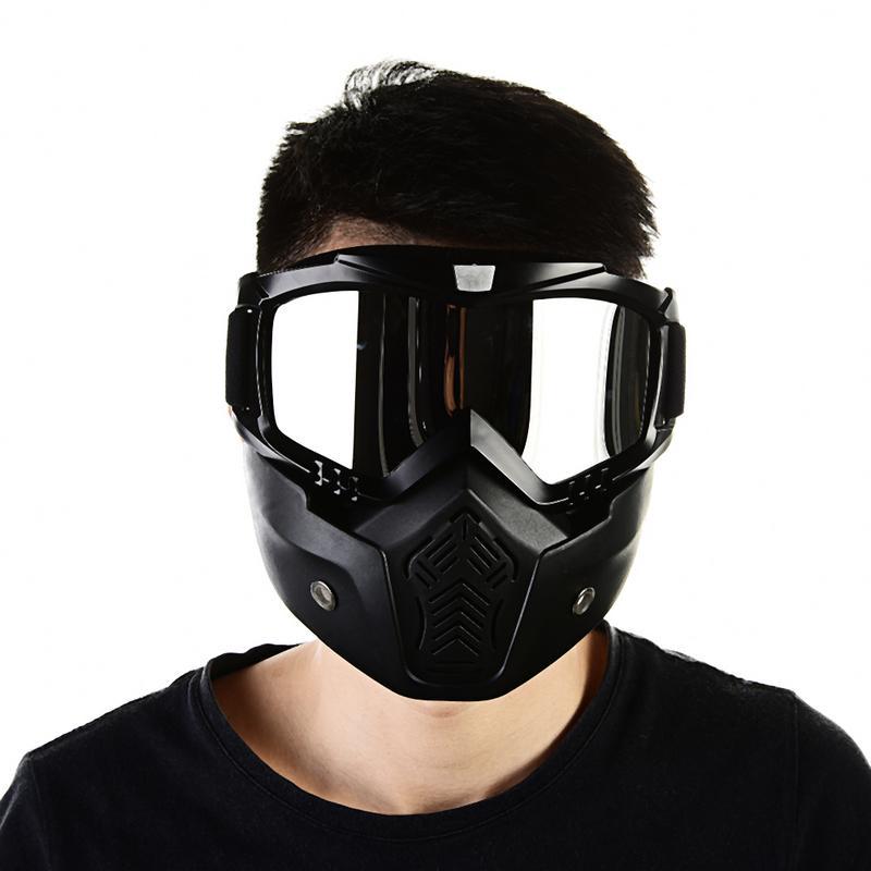 Hommes ski Snowboard hiver lunettes Masque Wintproof cyclisme moto lunettes motoneige lunettes de soleil Masque