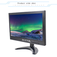 10 inch LED security LCD monitor HDMI computer monitor BNC interface HD monitor
