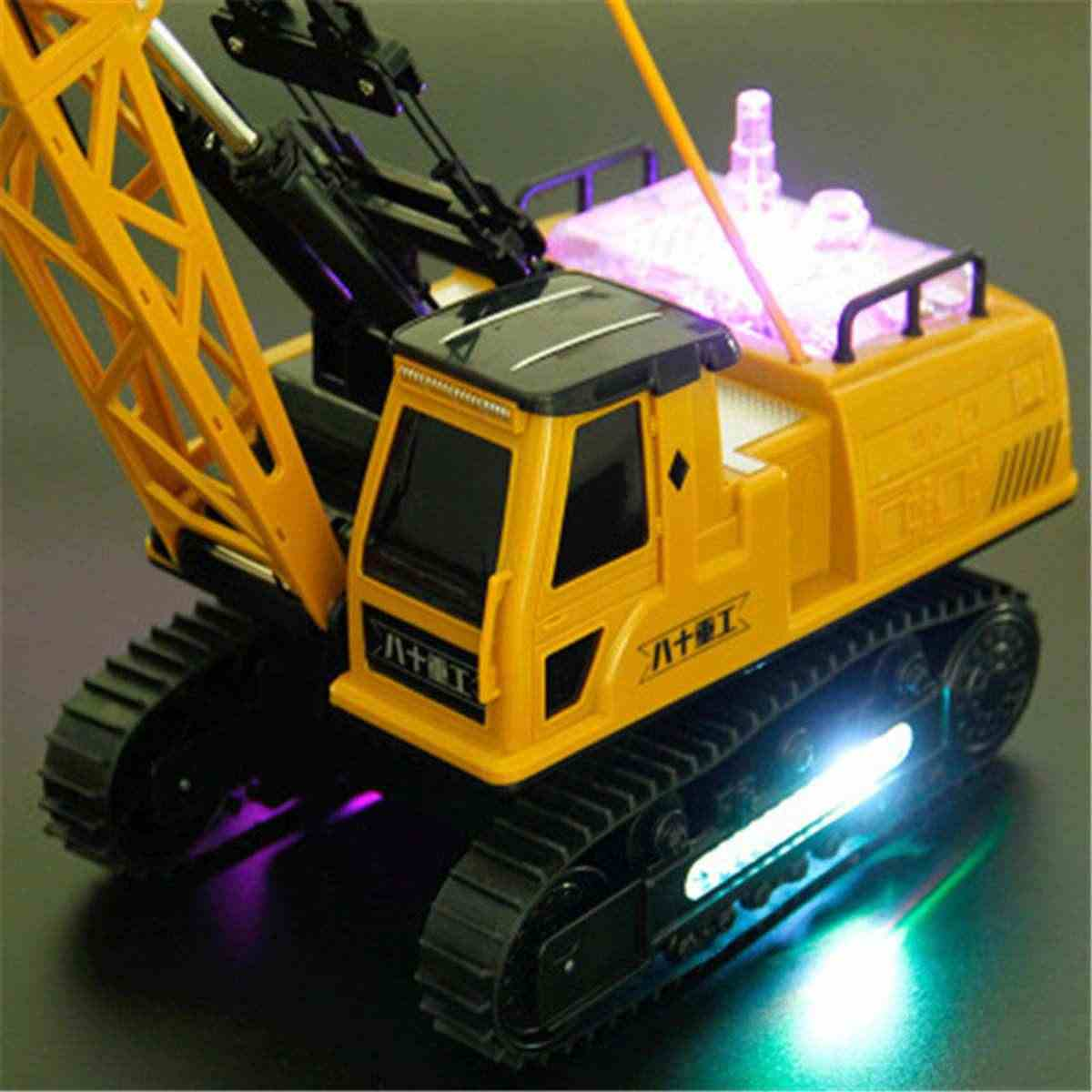 Remote Kontrol Derek Hadiah Mainan Angkat Berat Crane Model Anak Anak Hadiah Natal Penyelamatan Persewaan Mobil Konstruksi Teknik