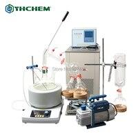 YHChem YHSP5000 5L Glass Short Path Distillation Laboratory Turnkey