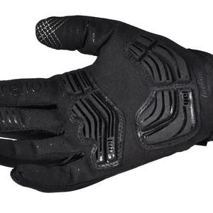 Image 4 - FIRELION Outdoor Voll finger Gel Touch Screen Radfahren Handschuhe Off Road Dirt Mountainbike Fahrrad MTB DH Downhill Motocross Handschuh