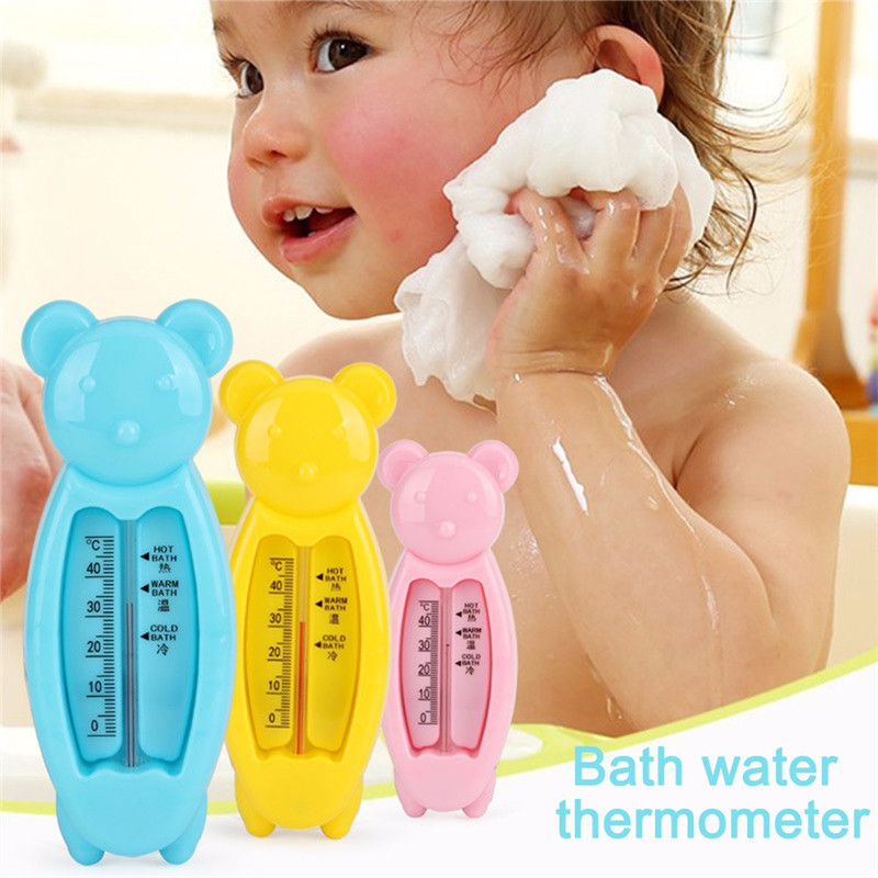 Childrens Cartoon Floating Bear Baby Water Thermometer Kids Bath Thermometer Toy Plastic Tub Water Sensor ThermometerChildrens Cartoon Floating Bear Baby Water Thermometer Kids Bath Thermometer Toy Plastic Tub Water Sensor Thermometer