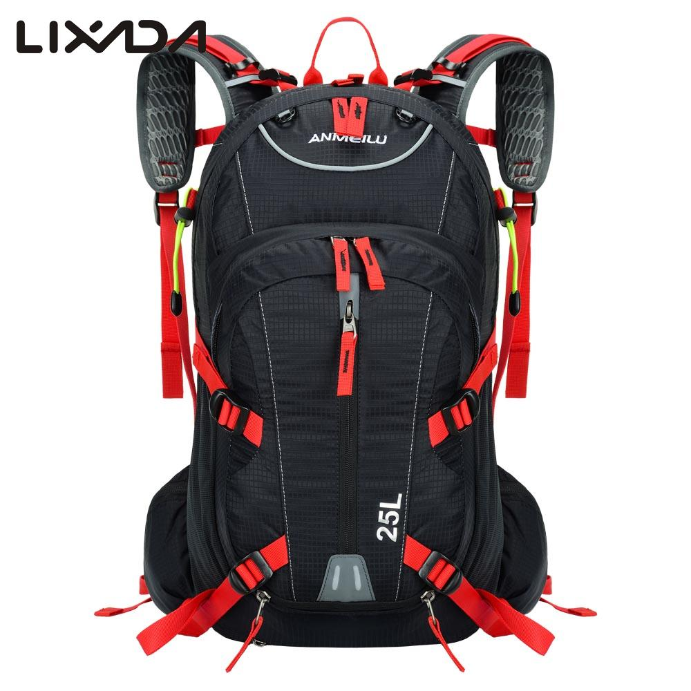 25l Cycling Bicycle Bag Bike Shoulder Backpack Ultralight Outdoor Sports Riding Hydration Water Bag With Rain Cover