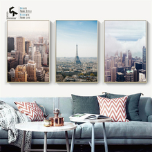 CREATE&RECREATE Nordic Poster Sunrise Sunset Landscape Posters And Prints Wall Canvas Paintings Decoration Pictures CR1810105020