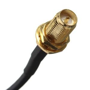 Image 5 - Bakeey 9m standart RP SMA erkek kadın MF Jack konnektörü yüksek kaliteli Wifi anten uzatma kablo tel altın kaplama kablolar