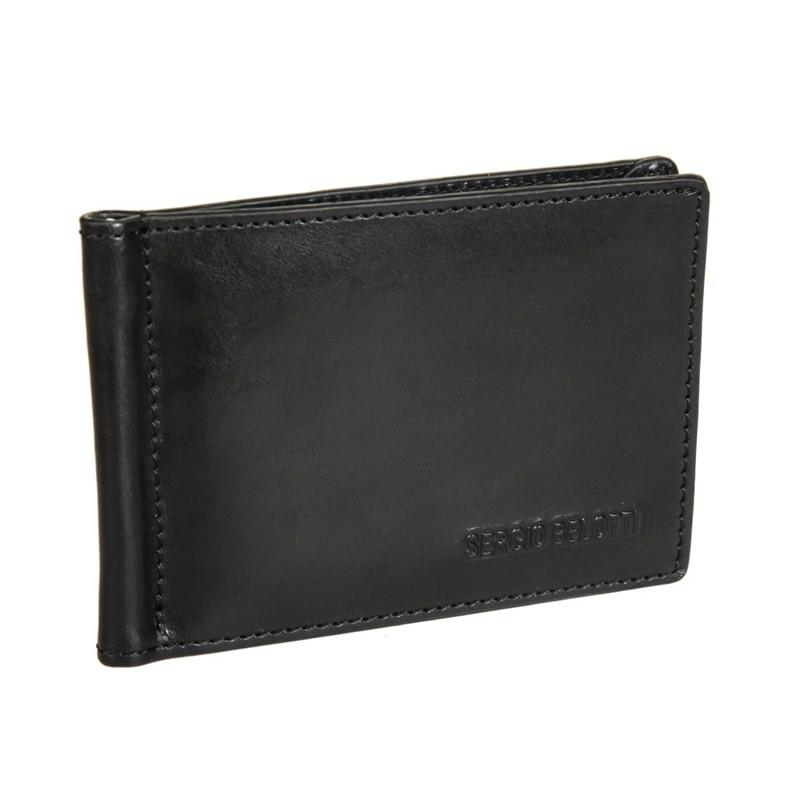 цены на Money clip Sergio Belotti 3589 IRIDO black в интернет-магазинах